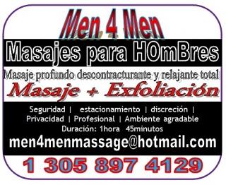 Terapia & Masajes Masculinos Men4Men