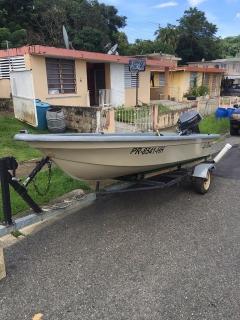 bote tipo mariner 13.5 pies
