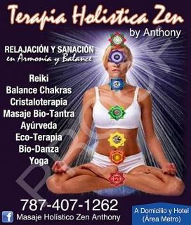 Oferta para las Madres: $30 por: Reiki + Balance Chakra  + Limpia de Aura. con Terapia Holistica