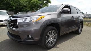 Toyota Highlander Xle Gris Oscuro 2015