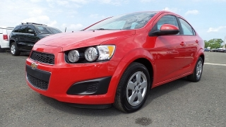 Chevrolet Sonic Ls Rojo 2014
