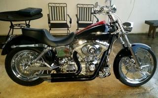 Harley Dyna super glide del 2005