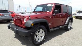 Jeep Wrangler Unlimited Sport Rojo Vino 2012