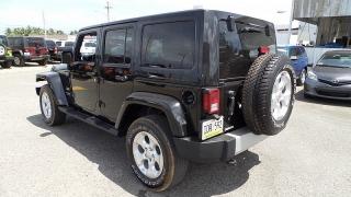 Jeep Wrangler Unlimited Sahara Negro 2013