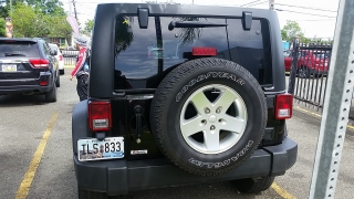 Jeep Wrangler Unlimited Sport Negro 2015