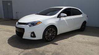 Toyota Corolla S Premium Blanco 2014