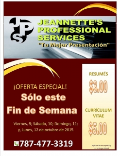 Jeannette's Professional Services
