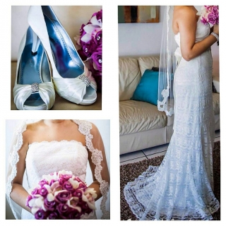 traje de novia excelentes condicones