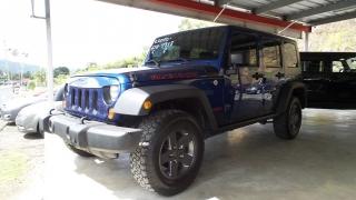 Jeep Wrangler Unlimited Rubicon Azul 2010