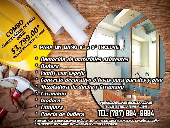 Accesorios De Baño En Puerto Rico:REMODELACION DE BAÑOS para Compra/Venta en Toa Baja