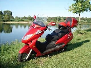 Scooter Hitong Boss 250cc Espaciosa*