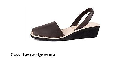 Classic Lava Wedge Avarca