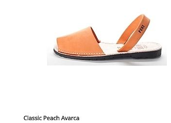 Classic Peach Avarca