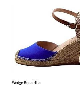 Wedge Espadrilles Azul Royal
