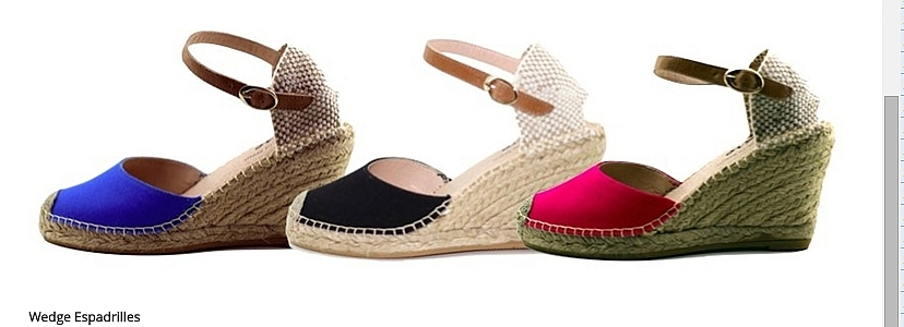 Zapatillas de taco bajo/ Varios Colores