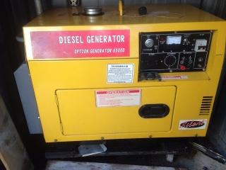 Gnerador Diesel 6.5 KVA - Option Generator 6500D
