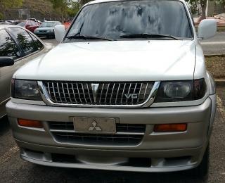 Mitsubishi v6 nativa montero sport