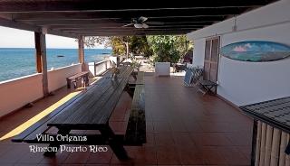 Villa en Frente Mar en Rincon