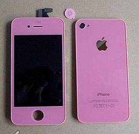 Cambia a rosa tu Iphone con Best Seller PR