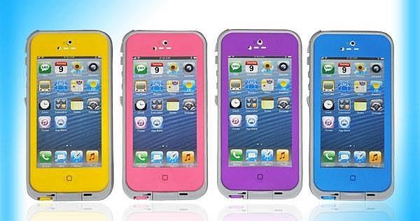 Cover Waterproof para iPhone 4, 4S y 5