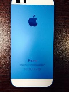 Customizamos Iphones 5 (Tapa trasera azul)