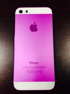 Tapa Trasera Color Rosa para Iphones 5