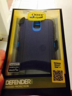 Cover Otterbox Negro/Azul