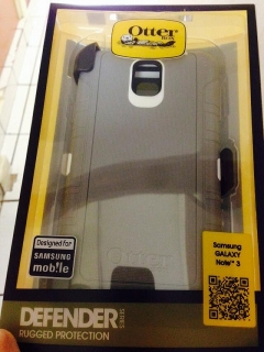 Cover Otterbox Gris/Blanco
