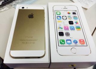 Iphone 5s 16gb de Claro color Gold.