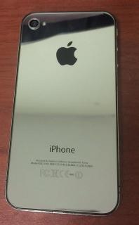Tapa Trasera de Iphone Cromada (Customiza tu Iphone)