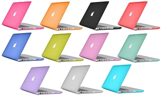 Cover para Macbook con protector de teclado en colores