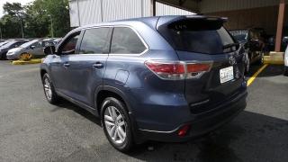 Toyota Highlander Le Azul 2014