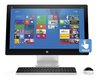 "HP ALL in one 27 "" touchscreen"