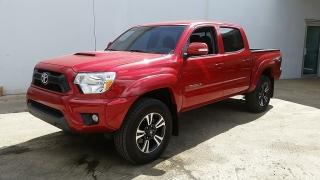 Toyota Tacoma Prerunner Rojo 2013