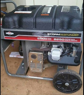 Planta Electrica Briggs &  Stratton 5500 Storm Responder