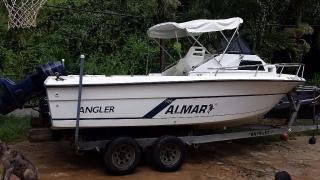 1990 Angler 21' Dos Motores 90HP