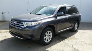 Toyota Highlander Se Gris Oscuro 2012