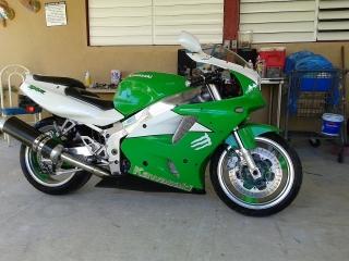 Kawasaki zxr7 del 1995