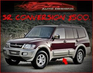 Mitsubishi Montero SR Conversion Kit