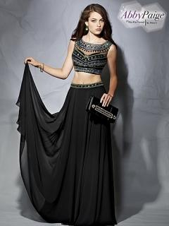 Vestido formal de dos piezas / ideal para prom
