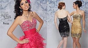 Variedad es estilos para trajes de prom