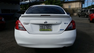 Nissan Versa SV Blanco 2014