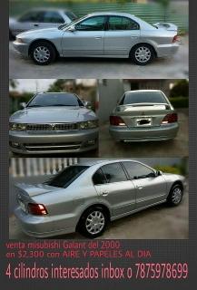 Mitsubishi,  Galant, 2000