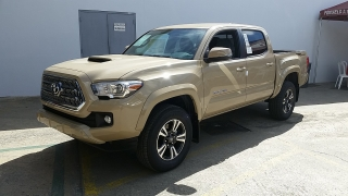 Toyota Tacoma TRD Sport Crema 2016