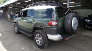 Toyota Fj Cruiser Sr Verde 2014