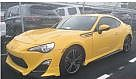 Scion FRS Realease Yellow