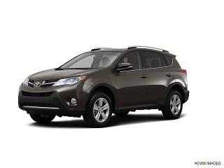 Toyota Rav4 Xle Brown 2013
