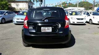 Nissan Versa Note S Plus Negro 2014