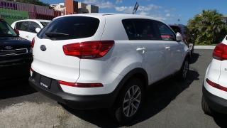 Kia Sportage Lx Blanco 2016