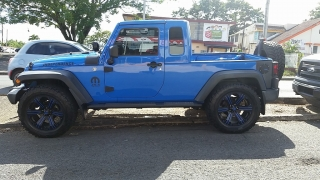 Jeep Wrangler Unlimited Sport Azul 2012